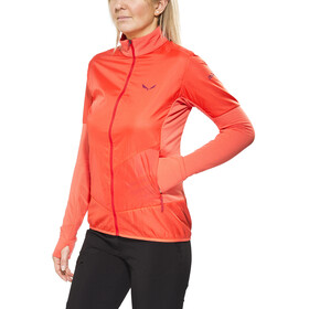 Salewa Pedroc PTC Alpha - Veste Femme - orange/rouge